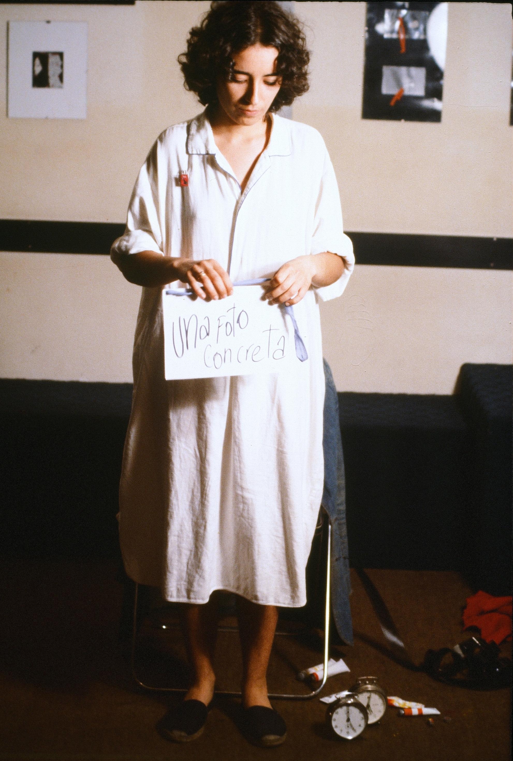 Nosrat Panahi Nejad Pellicola e il mio corpo Cine studio Obraz MIlano 1979 (1)