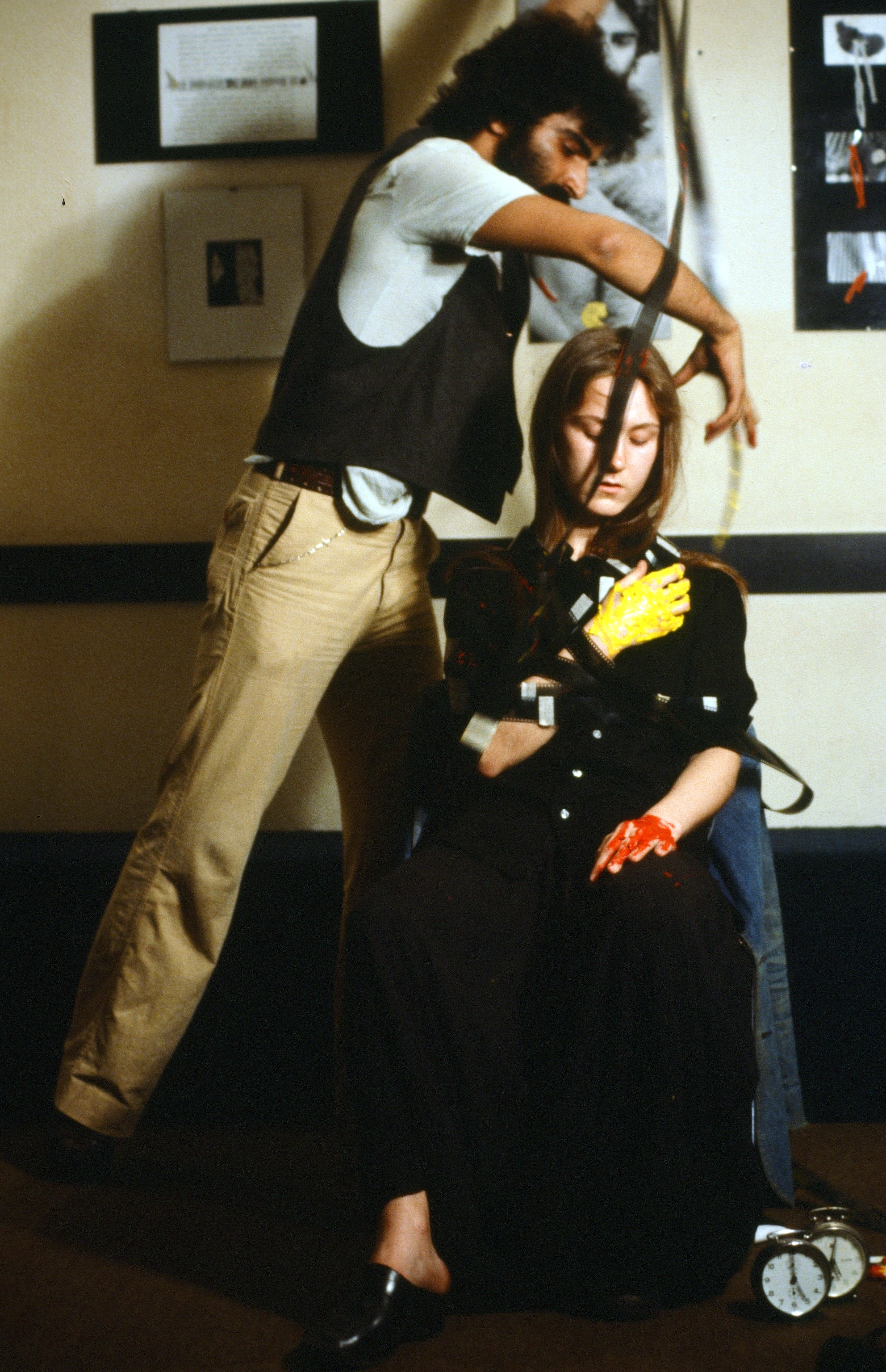 Nosrat Panahi Nejad Pellicola e il mio corpo Cine studio Obraz MIlano 1979 (12)