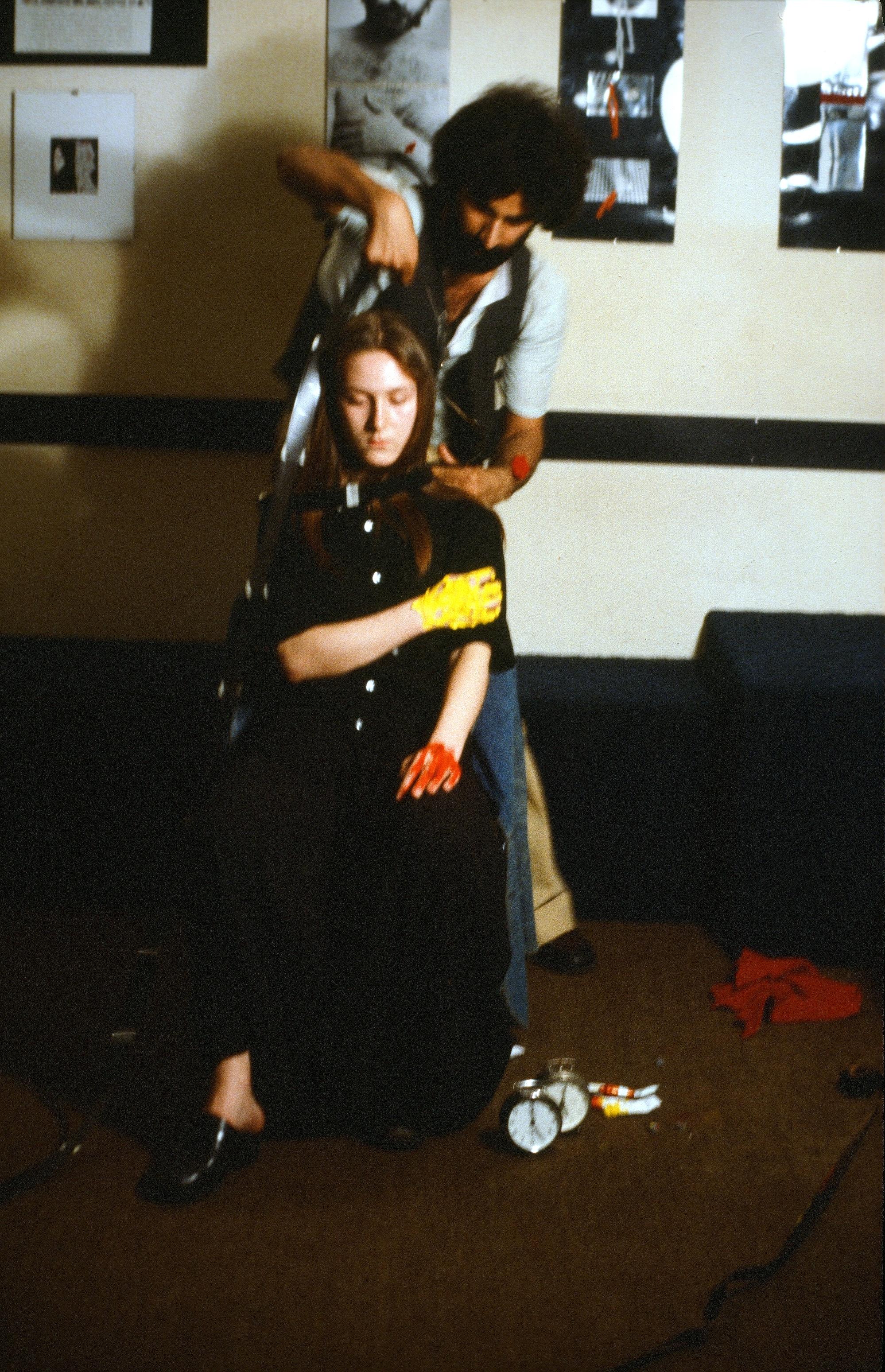 Nosrat Panahi Nejad Pellicola e il mio corpo Cine studio Obraz MIlano 1979 (17)