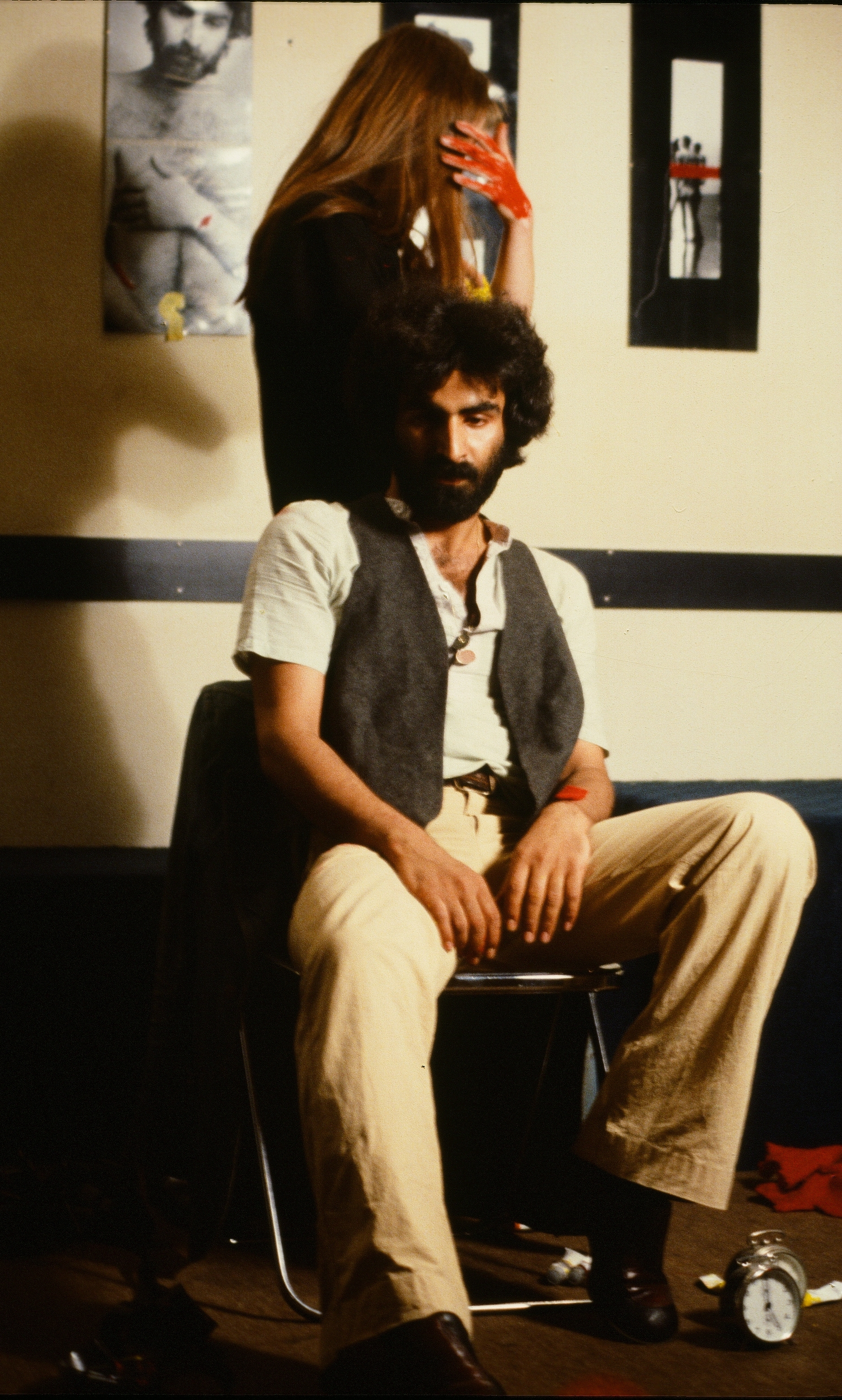 Nosrat Panahi Nejad Pellicola e il mio corpo Cine studio Obraz MIlano 1979 (25)