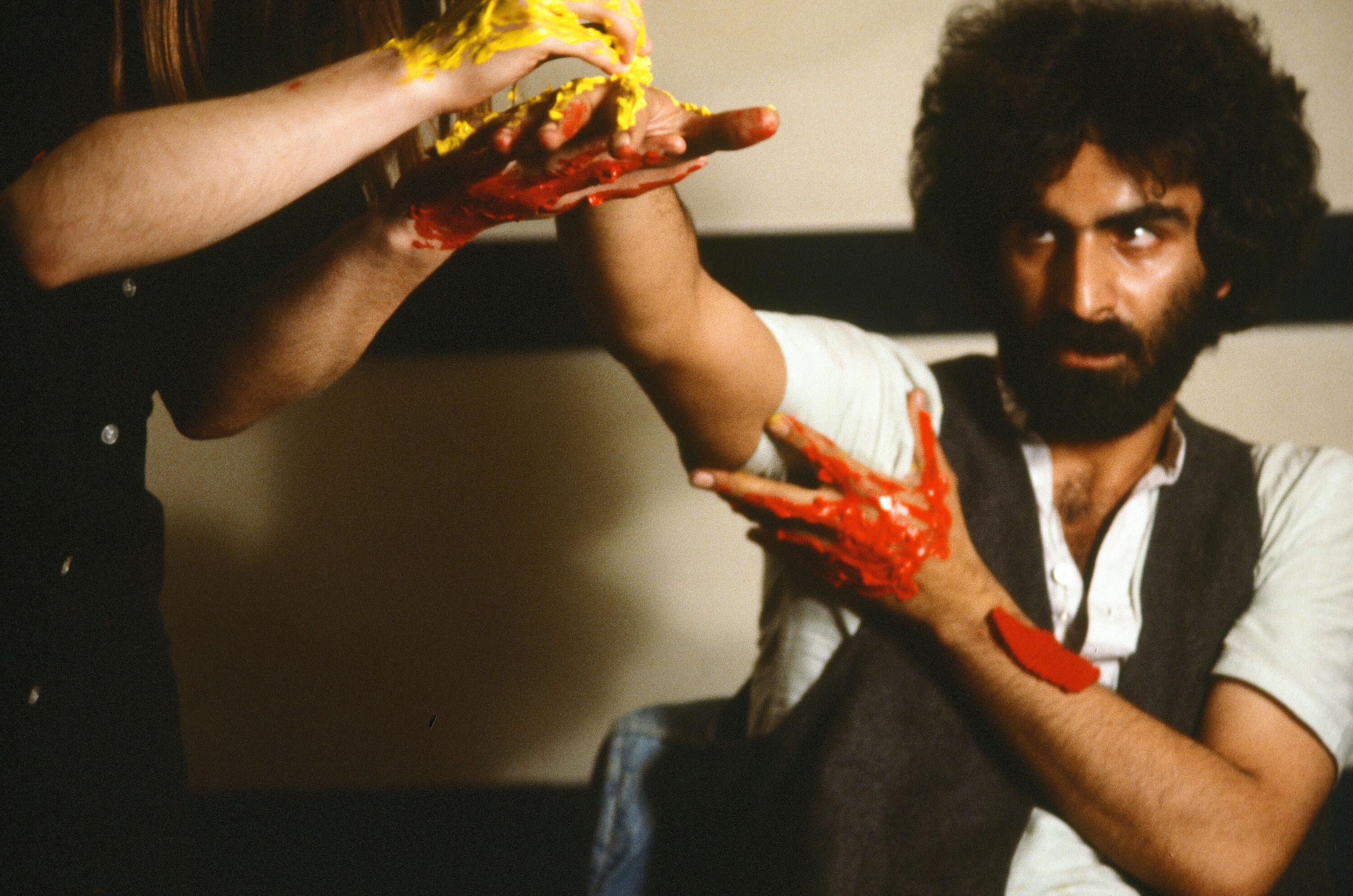 Nosrat Panahi Nejad Pellicola e il mio corpo Cine studio Obraz MIlano 1979 (30)