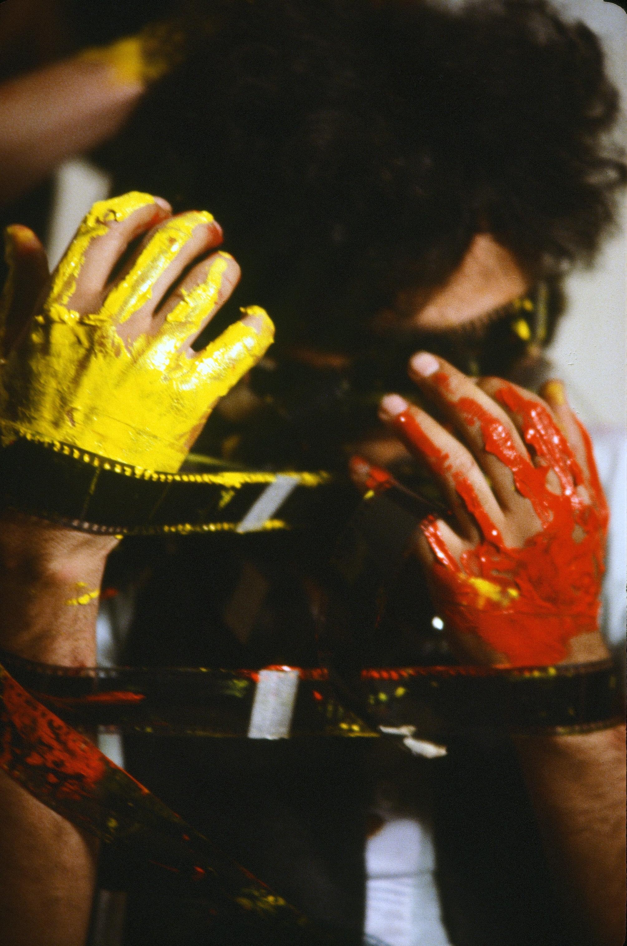 Nosrat Panahi Nejad Pellicola e il mio corpo Cine studio Obraz MIlano 1979 (42)