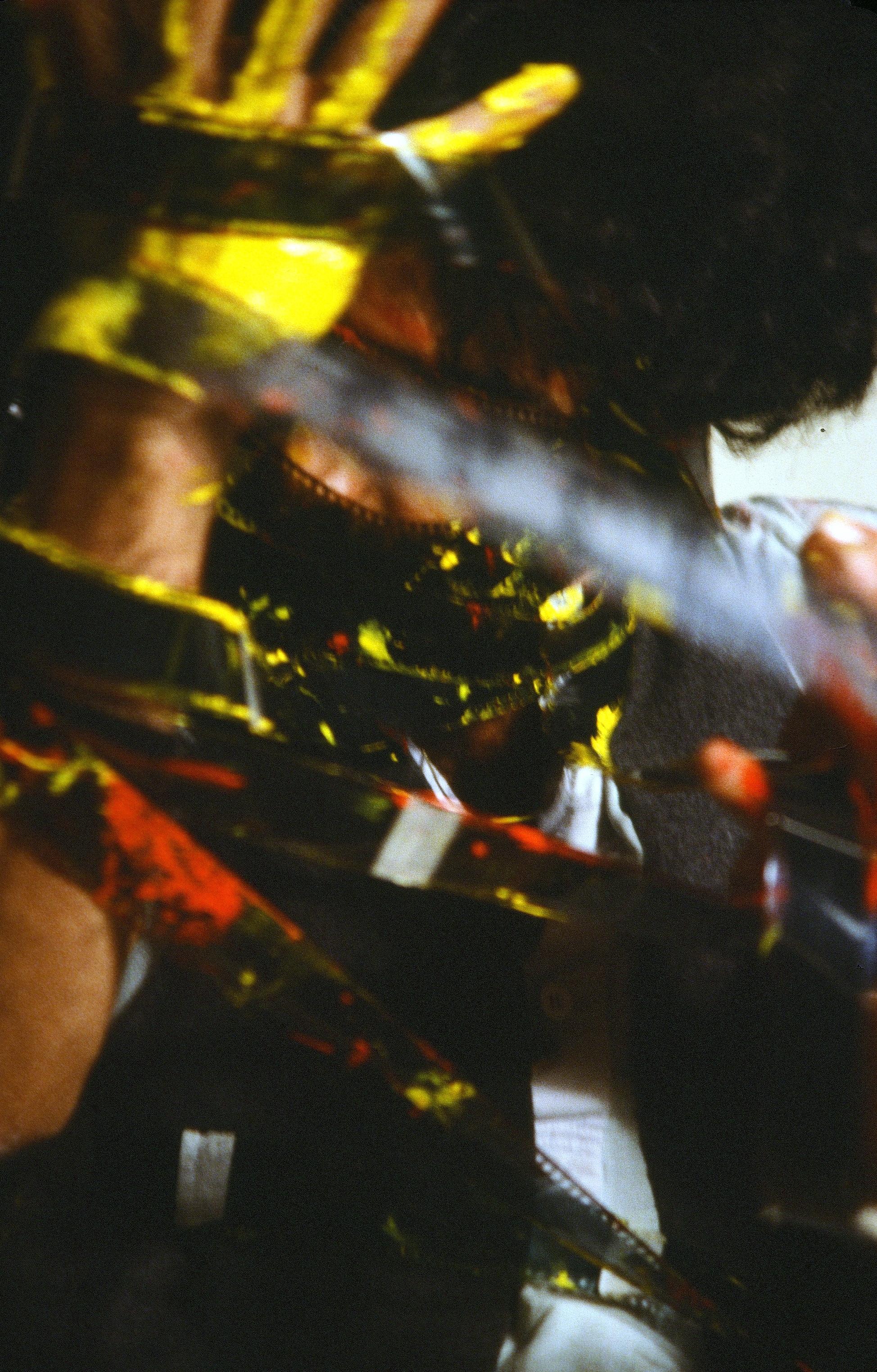 Nosrat Panahi Nejad Pellicola e il mio corpo Cine studio Obraz MIlano 1979 (47)