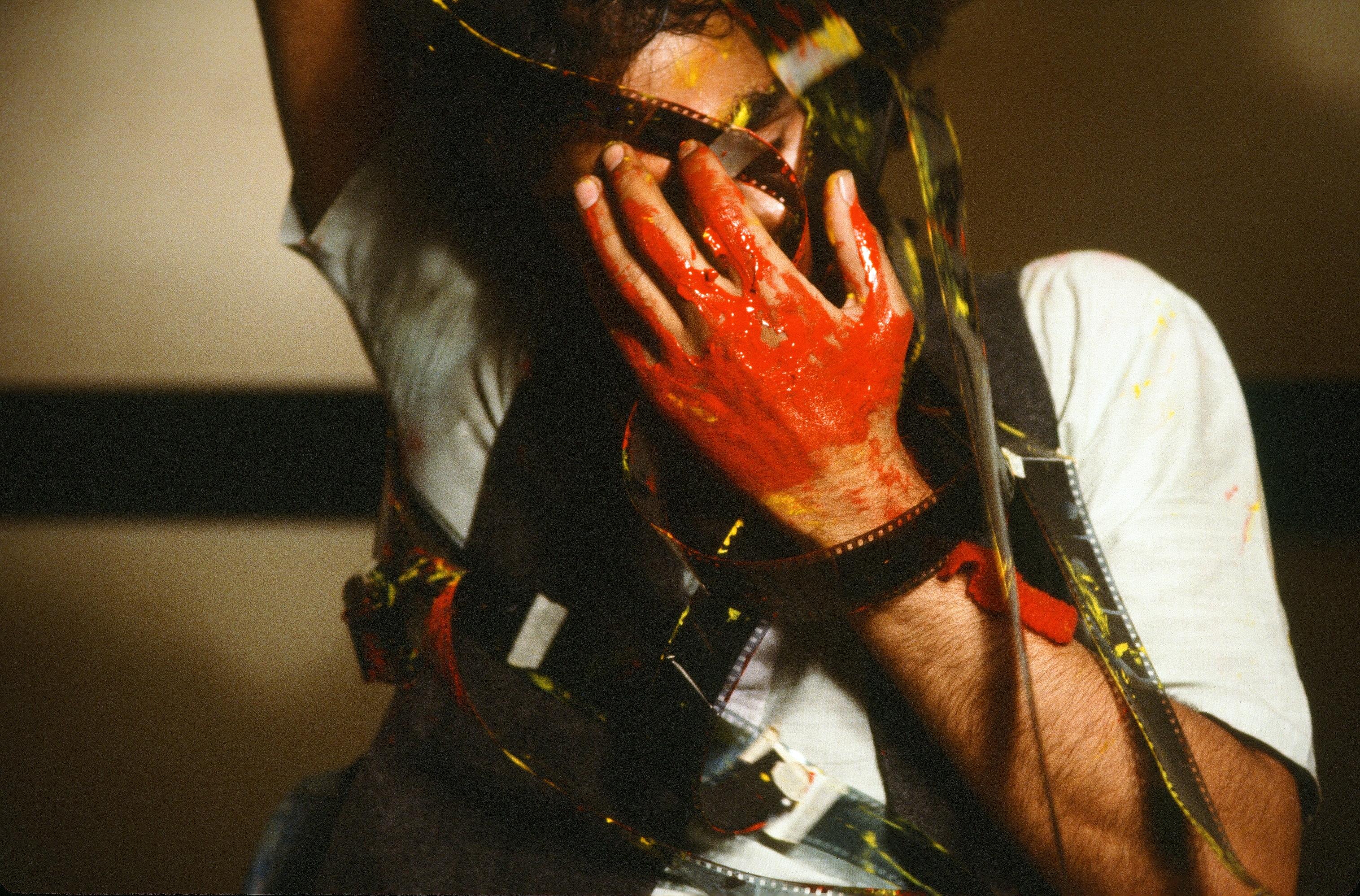 Nosrat Panahi Nejad Pellicola e il mio corpo Cine studio Obraz MIlano 1979 (48)