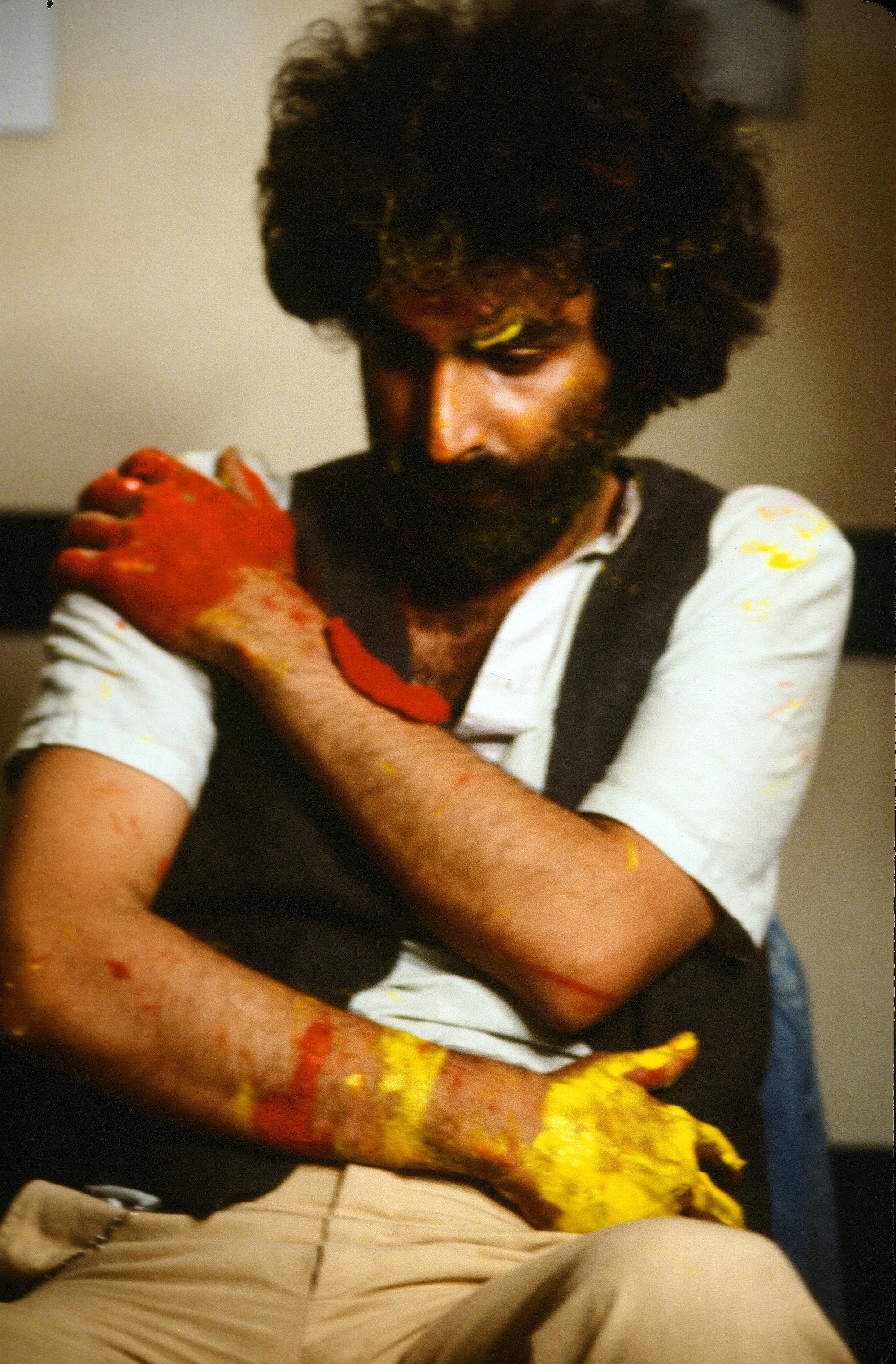 Nosrat Panahi Nejad Pellicola e il mio corpo Cine studio Obraz MIlano 1979 (51)