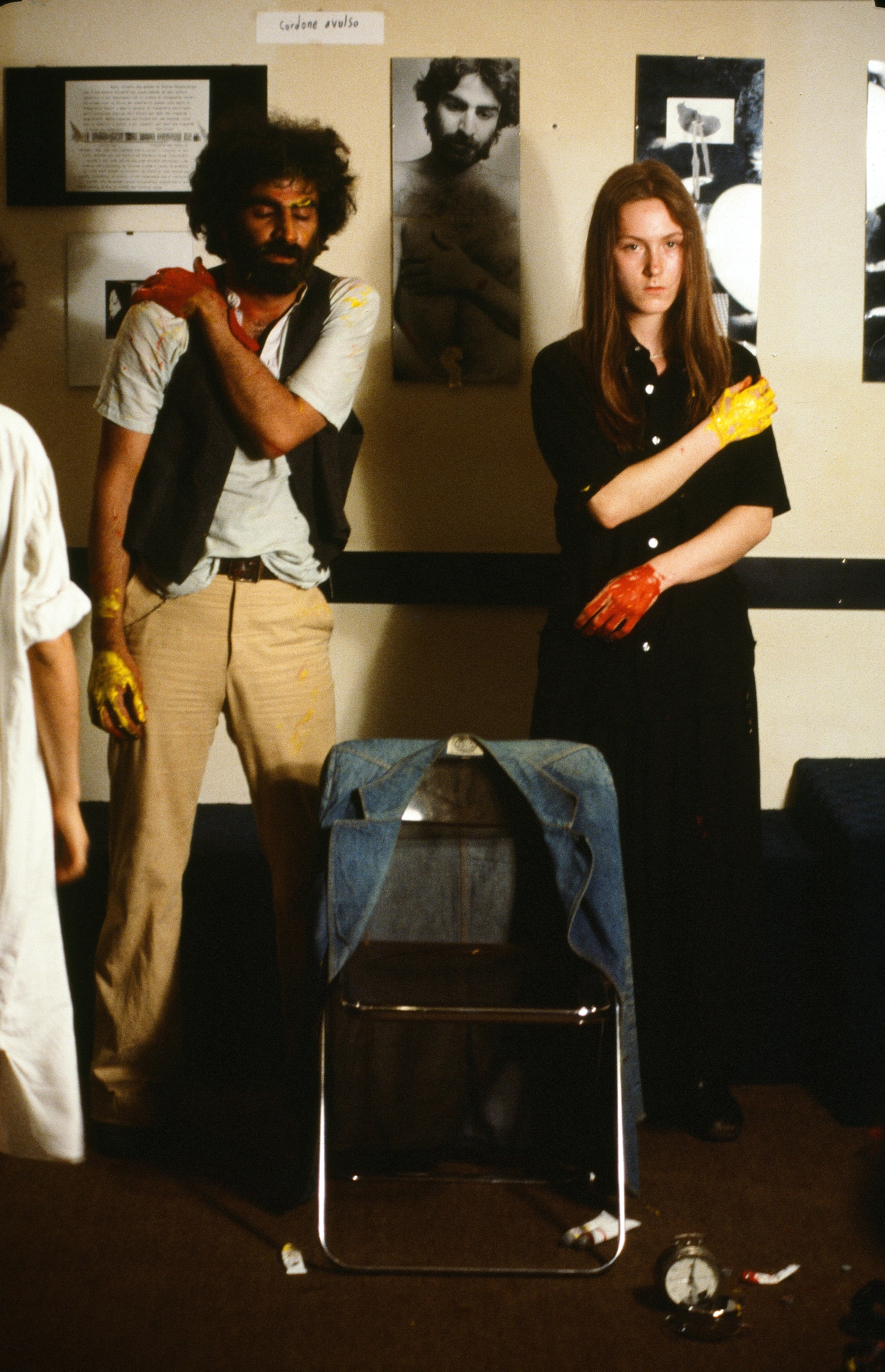 Nosrat Panahi Nejad Pellicola e il mio corpo Cine studio Obraz MIlano 1979 (52)