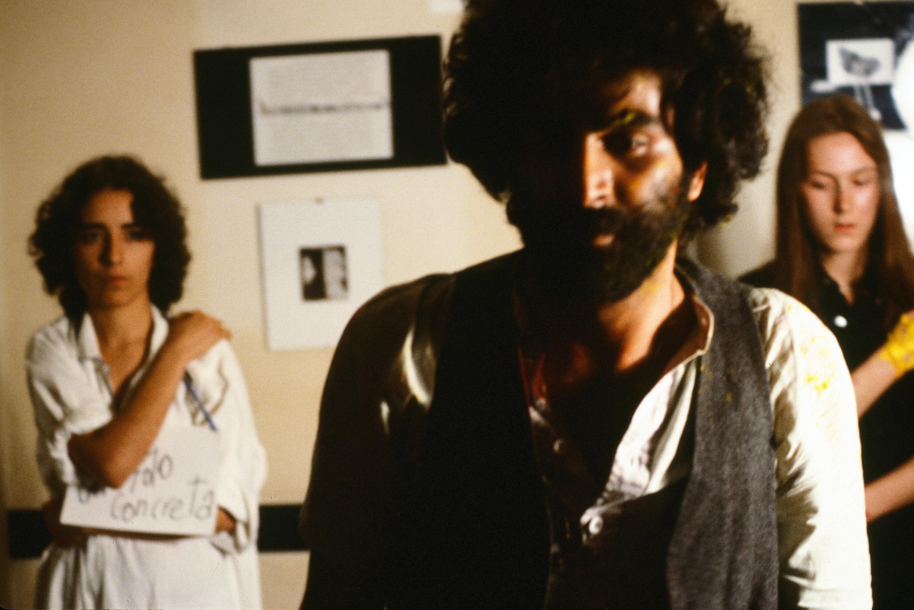 Nosrat Panahi Nejad Pellicola e il mio corpo Cine studio Obraz MIlano 1979 (56)