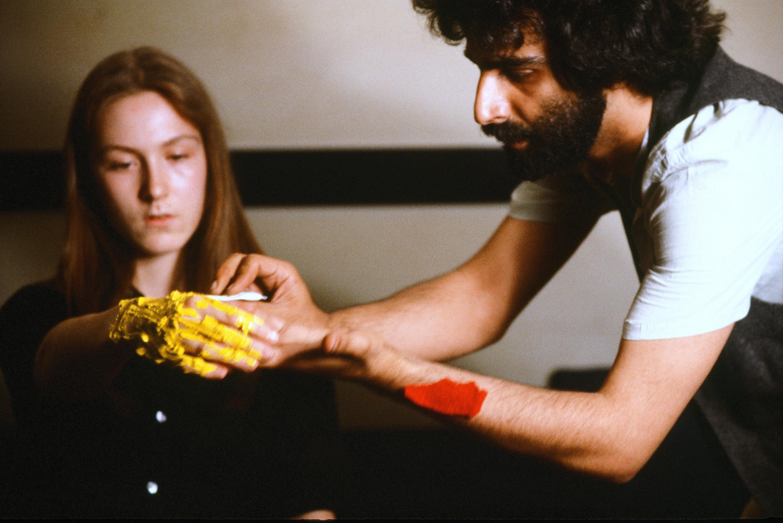 Nosrat Panahi Nejad Pellicola e il mio corpo Cine studio Obraz MIlano 1979 (6)