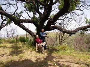 Nosrat Panahi Nejad con Aldo Pecoraino