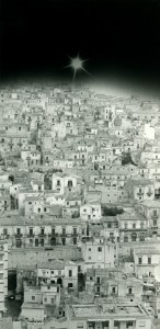 """Copyright © Nosrat Panahi Nejad """" Modica città d'Argo"""", 1993"""