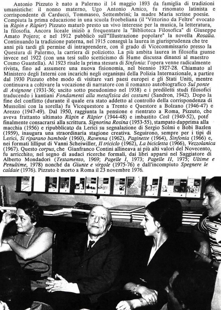 Antonio Pizzuto nella libreria Flaccovio