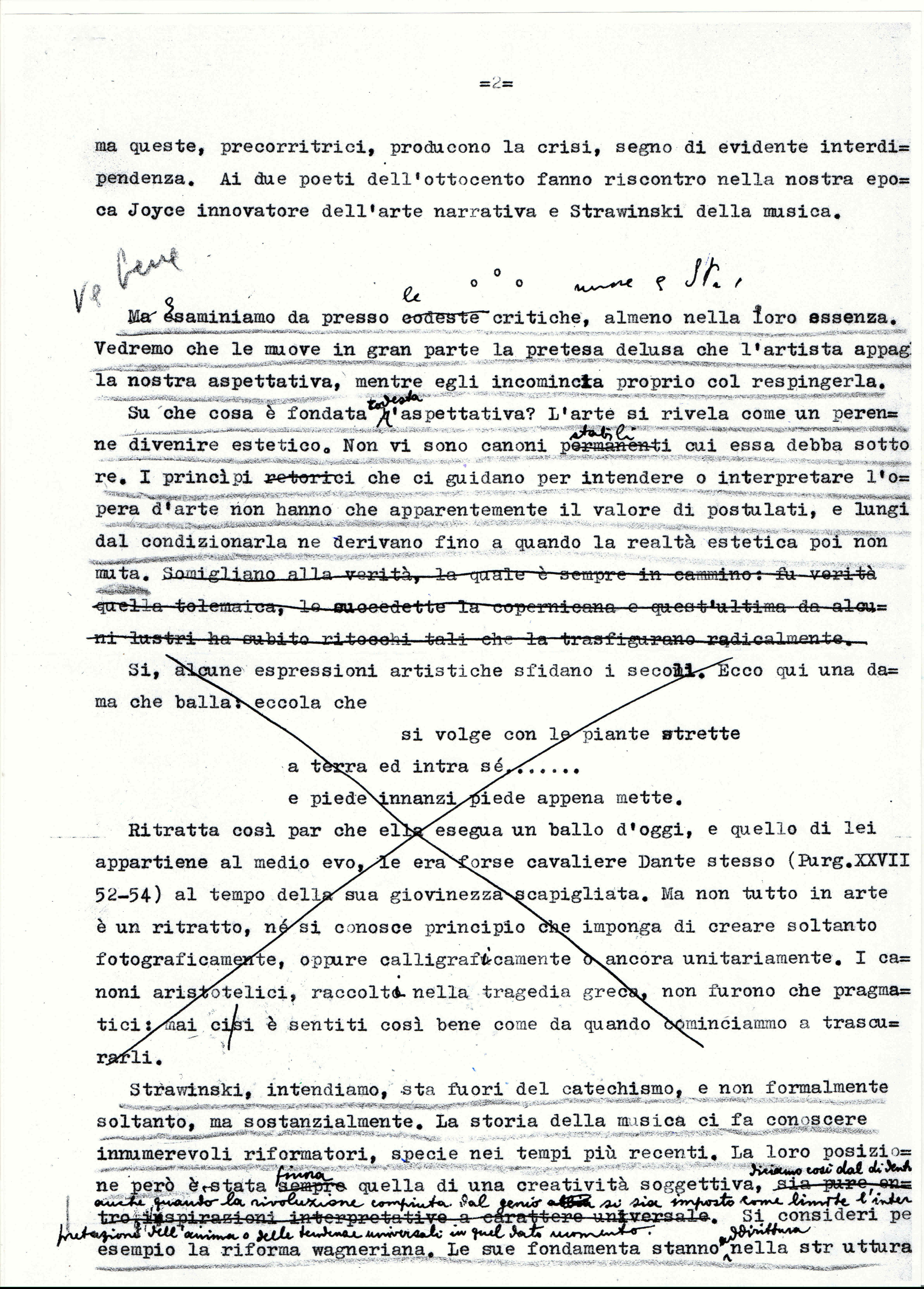 """Grafia di Antonio Pizzuto """"Impressioni su Strawiinsky 02"""""""