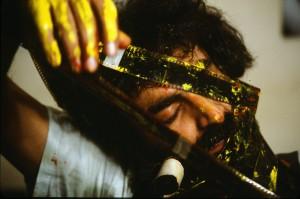 """© Nosrat Panahi Nejad """"Pellicola e il mio corpo 42, Cine studio Obraz , Milano, 1979"""""""
