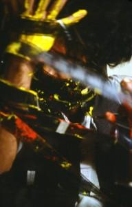 """© Nosrat Panahi Nejad """"Pellicola e il mio corpo 46, Cine studio Obraz , Milano, 1979"""""""