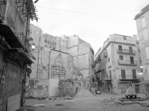 """© Nosrat Panahi Nejad """"Vucciria bianco e nero"""""""