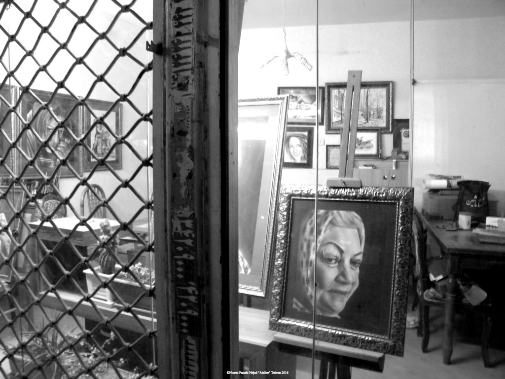 "©Nosrat Panahi Nejad ""Atelier"" Tehran 2016"